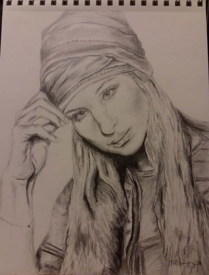 Heather Barbra Sketch Part 2